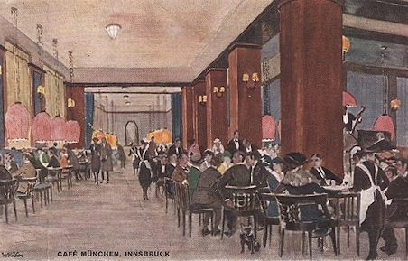 Cafe Stadt Muenchen