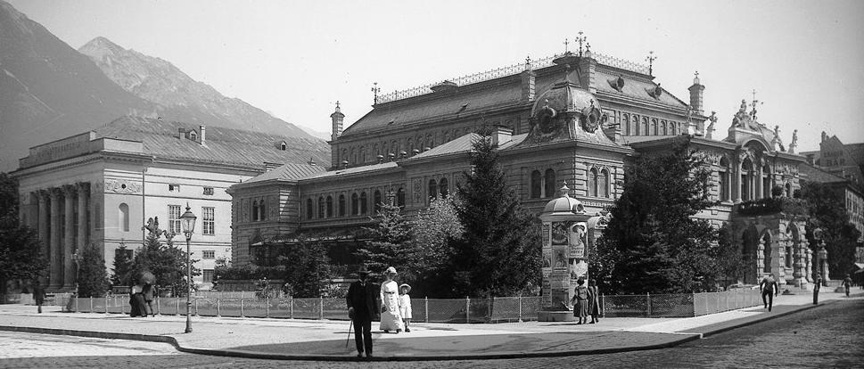 Stadtsaele und Landestheater 1894 (Stadtarchiv)